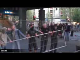 Policja kontra protestujący