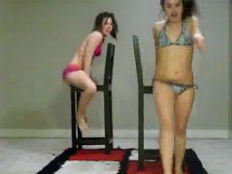 2 girls 2 chairs