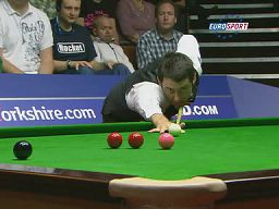 Snooker - Ronnie does give a f...k!