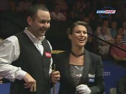 Snooker - Michaela, bez żartów! Dokąd z tą białą bilą?