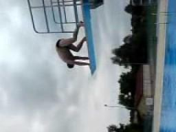 Mistrz skoków do wody