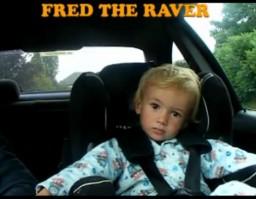 Młody miłośnik rave