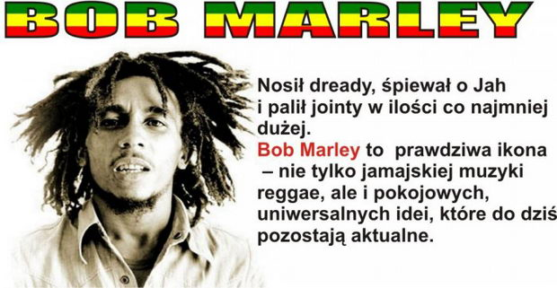 Bob Marley - ganja, reggae i piłka nożna - Joe Monster