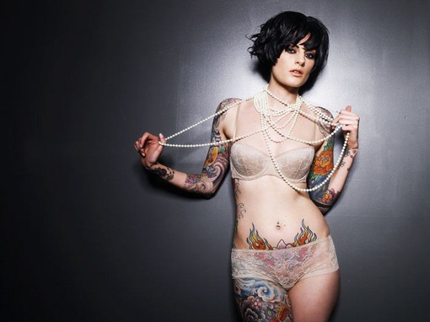 Piękne Tatuaże Na Pięknych Dziewczynach Joe Monster
