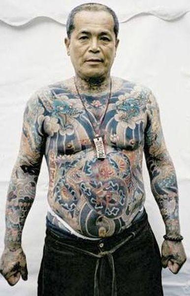 Jak Wyglądają Starzy Ludzie Z Tatuażami Joe Monster