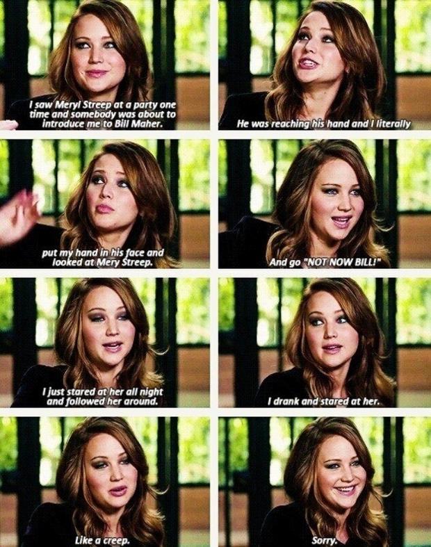 Jennifer Lawrence spotyka się teraz w 2014 roku