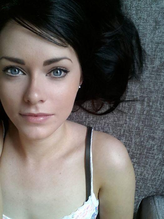 Light Blonde Hair Pale Skin Blue Eyes