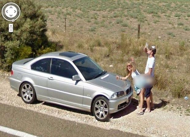 Dziwne Sytuacje Uchwycone W Google Streetview Joe Monster