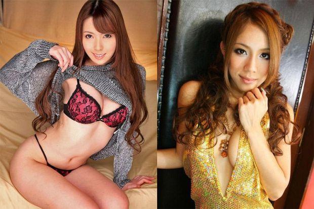 Azjatyckie gwiazdy porno