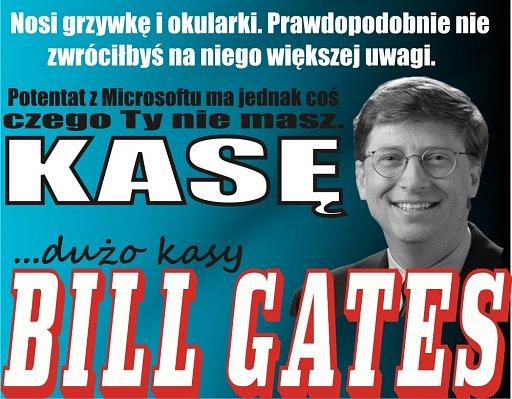 Bill Gates i jego nieskończone bogactwo
