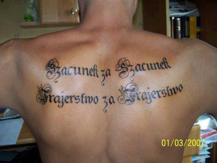 Tatuaze Cytaty Strona 1