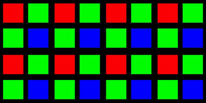 rggb-sensor-mosaic