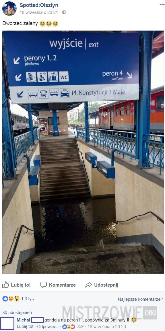 Dworzec –