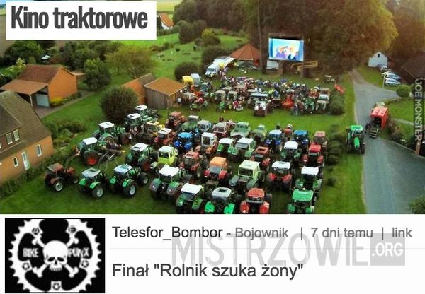 Kino traktorowe –